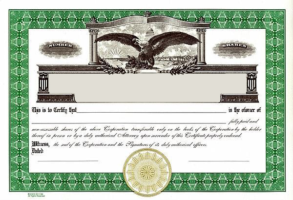 Elegant Corpkit.com/store/images/Certificate/Detailed/CG_g... Ideas Printable Stock Certificates