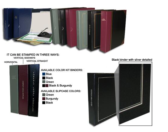 Corporate Kits, Corp Kit