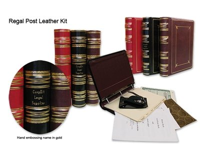 detailed image of Regal Leather corporate Kit, incorporation kits,corporate book