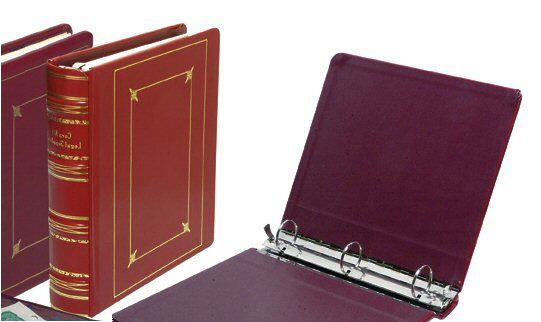 detailed image of 3 Ring Regal Leather corporate Kit, incorporation kits,corporate books