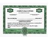 Custom Stock Certificates 2 Class Multi-Class Precise Certificates