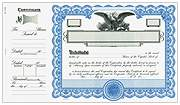 Goes 6388 Side Stub Stock Certificates