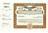 Goes 508 Side Stub Stock Certificates