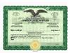 Custom Stock Certificates 4 Class Multi-Class Eagle Certificates
