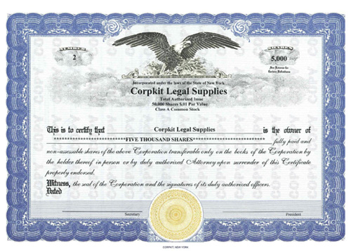 CorpKit Eagle Standard Wording