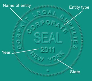 Corporate Seal Sample Image
