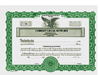 Custom Stock Certificates 1 Class Multi-Class Goes Certificates