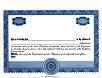 Custom Precise Stock Certificates Single Class Corporation