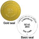 Electronic Digital Company Seal