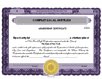 Electronic Digital Not-for-Profit/Nonprofit Stock Certificates