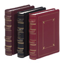 Regal Leather 3 Ring Custom Minute Book Binder