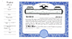 CorpKit Custom Side Stub SS2 Partnership Certificates