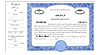 CorpKit Custom Side Stub SS5 Partnership Certificates