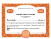 Electronic Digital Single Class Elite Stock Certificates