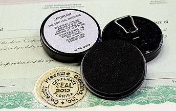 Embossing Seal Inking Pad